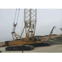 Wholesale 85 ton Jib 12t Hydraulic Crawler Crane , mobile hydraulic crane XGC85 from china suppliers