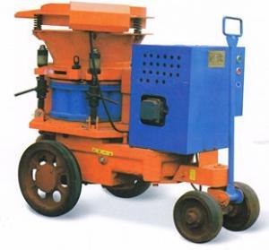 Wholesale 5m³ / h High Speed Mortar Spraying Machine , Motor Driven Shotcrete Machine from china suppliers