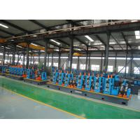 China High Speed Efficiency Capacity Steel ERW Pipe Mill Round & Square Pipe Tube Mill  Making Line on sale
