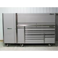China Snap On Arctic Silver 84 Epiq Tool Box Stainless Top Hutch & Full Size Locker.  Email:Bolyepotter.devostores@zoho.com for sale