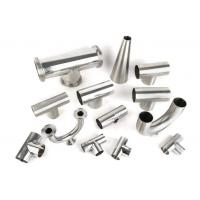 China Mirror polished sanitary stainless steel pipe fitting Material 3A/DIN/SMS/ID SS304,SS316-Accesorios sanitarios for sale