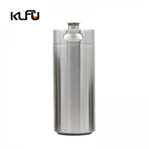 Wholesale CO2 Regulator Stainless Steel Beer Keg 170oz 5L Beer Growler from china suppliers