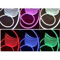 Wholesale PVC LED RGB LED Neon Flex Multi Color Changing 110V AC Input Voltage from china suppliers