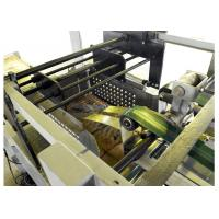 Quality Chemicals / Food Paper Bag Making Machine With Servo System Control for sale