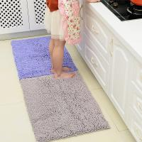 China Chenille Bath Rug Plush Carpet Mat In Bedroom Machine Washable Rug Baths Toilet Lid Cover Mat on sale
