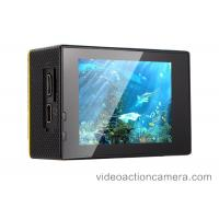 1080p 4K Wifi Action Camera With Remote Control , Helmet Video Camera