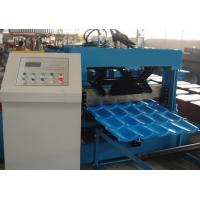 Roof Tile Roll Forming Machine 22 Forming Stations For Metal Roof Panel