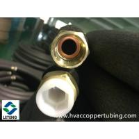 China Hex Nuts Copper Plumbing Fittings , 0.8mm Wall Thick Copper TubeConnector on sale