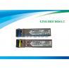Gigabit Ethernet SFP Optical Transceiver / Fiber Optic Transceiver 1.25G Bi-Di 3km LC Connector for sale
