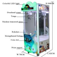 China Stable Performance Toy Crane Vending Machine / Doll Catching Machine for sale