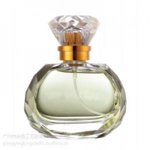 Best Hexagonal diamond sarin cover glass perfume bottles30ml50ml wholesale
