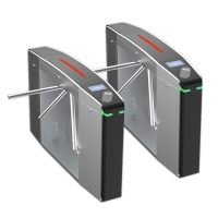 Wholesale Adjustable Speed 304 Stainless Steel Access Control Turnstile Gate from china suppliers