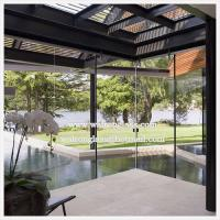 Buy cheap Clear or Frosted Glass Office Partitions from wholesalers