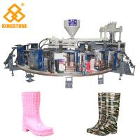 Wholesale 1/2 color Fully Automatic PVC Farmer boots Injection Moulding machine boot making machine from china suppliers