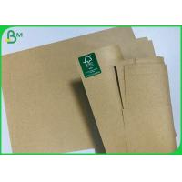 China Eco Recycled Brown Craft Paper 120G 200G Cardstock For Printing Book Cover for sale