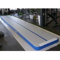 Wholesale Customized Air Track Gymnastics Mat , Inflatable Air Tumble Track With Repair Kit from china suppliers