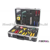 China Fiber Fusion Splicing Tool Kit Fiber Optic Accessories With Carriyng Case on sale