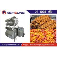 Wholesale Automatic Batch Fryer Machine 2.2kw  , Electric Fried Dough Machine Capacity 350kg / H from china suppliers