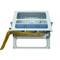 Wholesale SC LC Rack Fiber Optic Patch Panel 48 96 Port 19 U Sliding Type Transparent Top from china suppliers