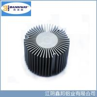 Sunflower Precistion Shapesof  Heat Sink Aluminum Extrusion Profiles