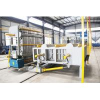 Wholesale Carbon Steel Material EPS Sandwich Panel Production Line Semi Automatic Level from china suppliers