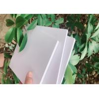 Wholesale Closed Cell White Rigid PVC Foam Board 4FT * 10FT For Store Fixtures from china suppliers