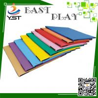 Wholesale Hand Make Residential Soft Play Sponge , Kids Soft Mat PU Leather Material from china suppliers