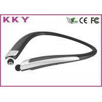 Bluetooth 4.0 Headset with Retractile and Foldable Earbuds and Vibratory Function
