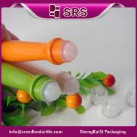 Wholesale manufacturer empty plastic eye cream bottle with PP ball and PP cap from china suppliers