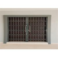 Wholesale Thickness 2.0mm 6063 Aluminium Security Doors And Windows With Sand Blasting from china suppliers