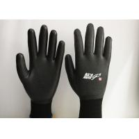 China 15 Gauge Nylon Latex Coated Gloves Excellent Breathability EN388 Certificated on sale