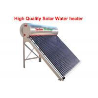 China Reliable Vacuum Tube Solar Water Heater , Heat Pipe Solar Water Heater for sale