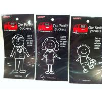 Wholesale Family Car Window Decal (XH-213) from china suppliers
