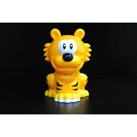 China An Yellow Tiger Animal Pencil Sharpener , Toy Pencil Sharpener For School for sale