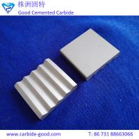 Wholesale Tungsten cobalt alloy plate weldable tungsten carbide plates brazed strips for clamp device from china suppliers