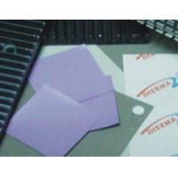 Best 5 W / mK blue-violet  Thermal Silicone rubber pad thermal Gap Filler with 50 shore00 for Micro Heat Pipe -50 to 200℃ wholesale