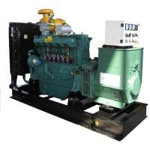 China Automatic Start Biogas Generator Set , 70KW 90KVA Methane Engine Generator for sale