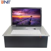 China aluminum alloy material supply keyboard electric flip up monitor BF7-15.6A for sale