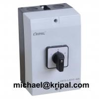 1-0-2 IP65 waterproof changeover switch with box 10A 16A 20A 32A 40A 63A 80A 100A for sale