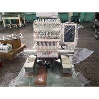 China Haftex Single Head Compact Embroidery Machine With 15 Color One Year Warranty for sale