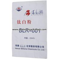 Recyclable Multiwall Paper Bags White Kraft Paper Sacks for Titanium Pigment Packing for sale