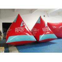 Wholesale Safety Red Pyramid Inflatable Water Buoy Markers Customized Size EN14960 Approved from china suppliers