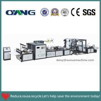 Non Woven Bag Making Machine Manual for sale