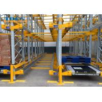 Wholesale Semi Automatic Pallet Shuttle System Industrial Warehouse Storage Racking from china suppliers