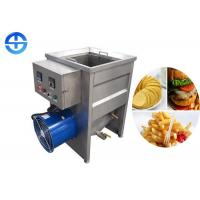 China Small Capacity Manual Food Frying Machine Oil Tank Size 500*500*400mm on sale