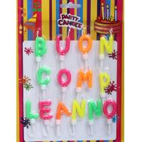 Wholesale Multi-colors Letter Candles (ZMC0029) from china suppliers