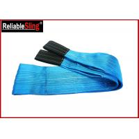 Wholesale Polyester Flat Webbing Slings 8 Ton Flexible Heavy Duty Lift Sling from china suppliers