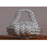 Wholesale high quality 8mm nylon 3-strand twist code rope for ship from china suppliers
