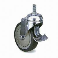 Wholesale Excellent PUP/TPR Industrial Caster with 100mm Outside Diameter and 31mm Wheel from china suppliers