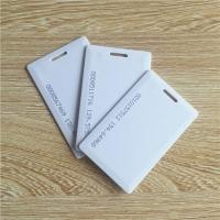 China China supplier 125khz TK4100 / EM4200 ABS 1.8mm thick clamshell card for ID card for sale
